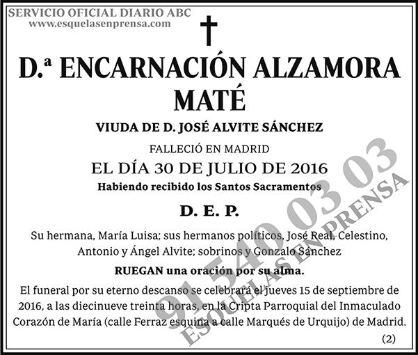 Encarnación Alzamora Maté